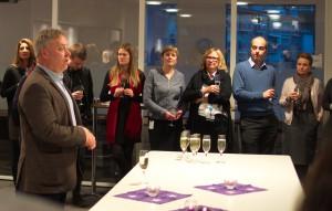 Erik Kollerud ønsker 17 STAFO-organisasjoner velkommen til Delta.